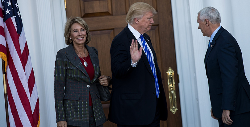 Advocates Demand Devos Protect Students >> Devos Poised To Take Over Ed Department As Civil Rights Complaints