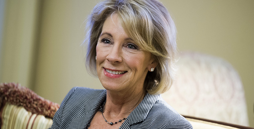 Inside the Fight to Save Detroit's Schools: Betsy DeVos's