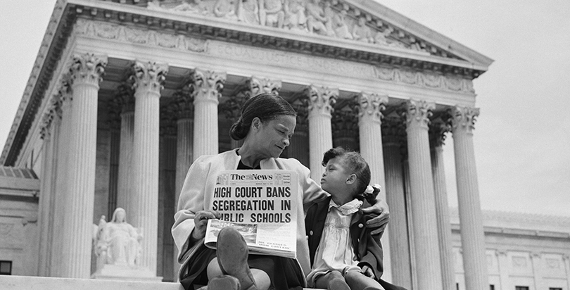 Image result for brown vs board of education separate but equal