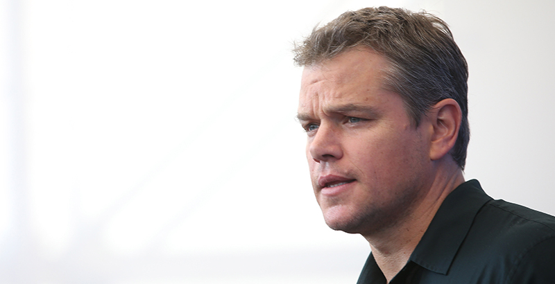 the74million.org - Rotherham: Matt Damon Seems Blissfully Ignorant of Many Things. So Why Should We Listen to Him on Schools?