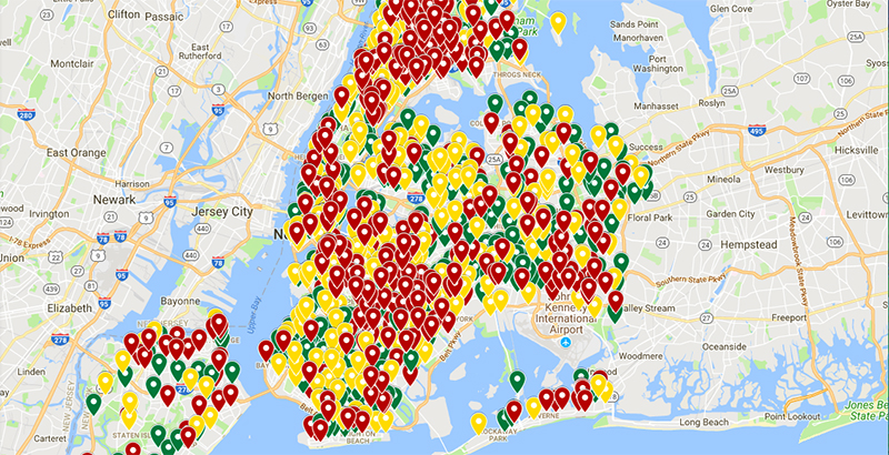 Exclusive: New School Safety Map Finds NYC Charters Safer Than