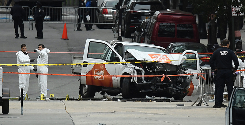 Name Of Home Depot Truck Driver In New York Incident
