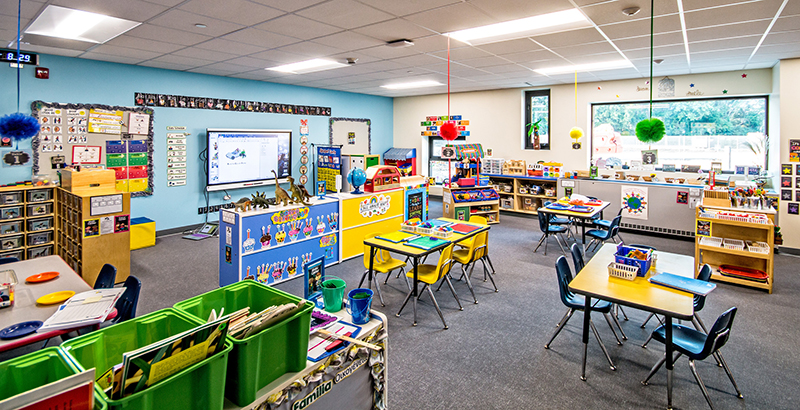 Color, Light & Room to Explore: 21st Century School ...