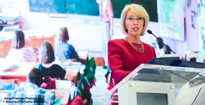Betsy DeVos approves Washington state's Every Student Succeeds Act plan