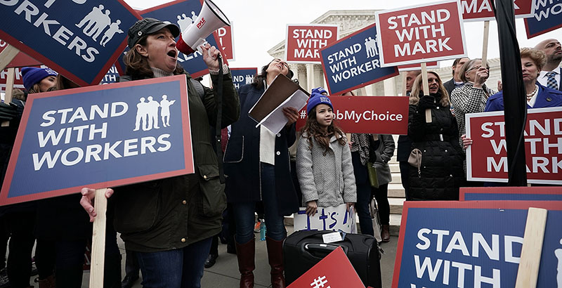 Us Supreme Court Seeks Views On Level >> It S Been One Year Since The Supreme Court Heard The Janus Case The