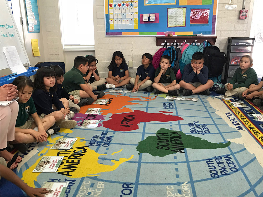 Innovative First Grade Classroom : Innovation road trip at this phoenix school students are