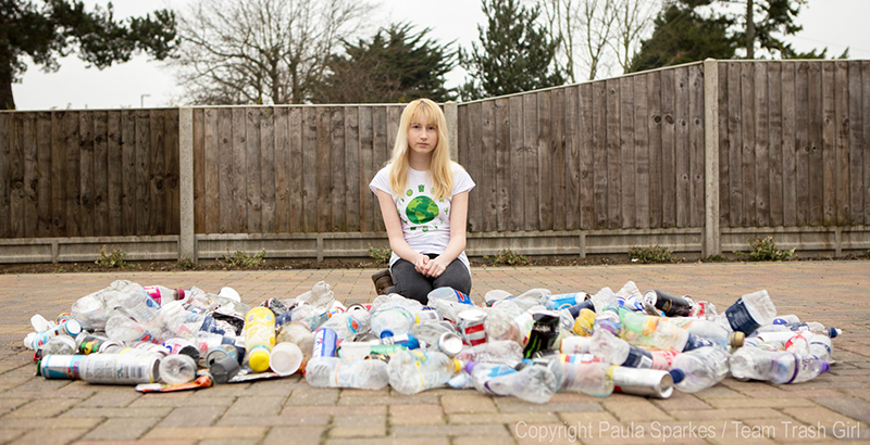 12-Year-Old 'Trash Girl' Puts the Lid on Bullies By Saving the World