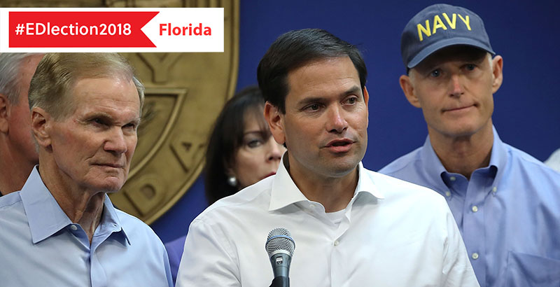 Florida Governor Is Signing K 12 Public >> Education Issues Control Of The U S Senate Loom Large In