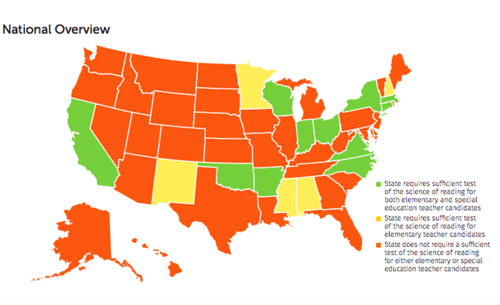 new finding most states don t test new teachers on science of