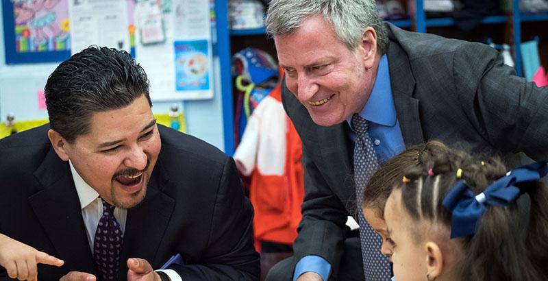 Mayor Bill De Blasio Wants To Diversify New York City Schools