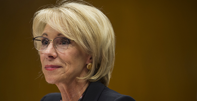 Feds Put Brakes On Special Education >> 74 Interview Education Secretary Betsy Devos On Freedom