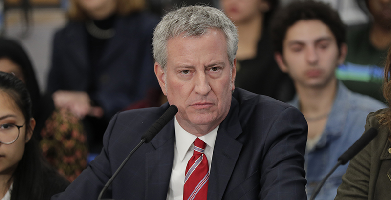 A Mom's View: New York City Mayor Bill de Blasio Says He 'Hates' Charter  Schools. We Need Less Hate and More Hope for Our Kids' Education | The 74