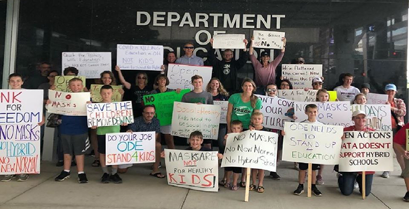 Masks Distancing And State Health Mandates Loom As Land Mines For Ohio S School Reopening The 74