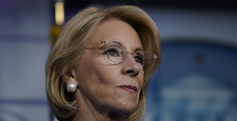Education Secretary Betsy DeVos resigns, WSJ reports